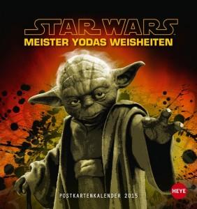 Meister Yodas Weisheiten Postkartenkalender 2015