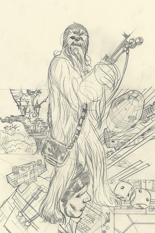 Rebel Heist 3 (Sketch Variant Cover by Adam Hughes)