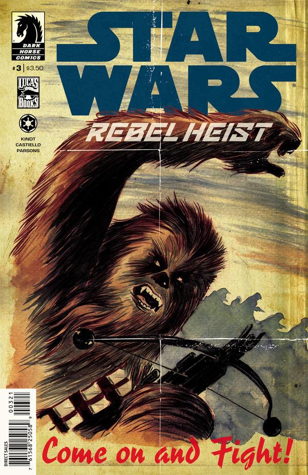 Rebel Heist 3 (Matt Kindt Variant Cover)