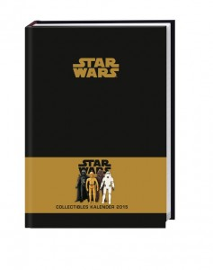 Star Wars Collectibles Kalenderbuch A5 2015