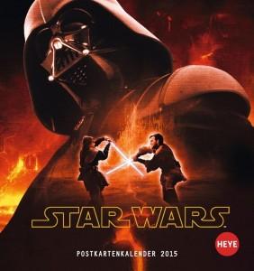 Star Wars Postkartenkalender 2015