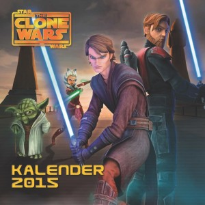 The Clone Wars Wandkalender 2015