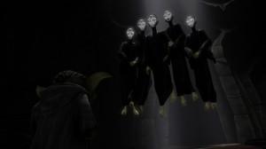 Yoda und die Fünf Priesterinnen