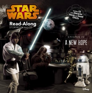 Star Wars Episode IV: A New Hope – Read-Along Storybook and CD (Disney Store Custom Pub) (15.01.2015)