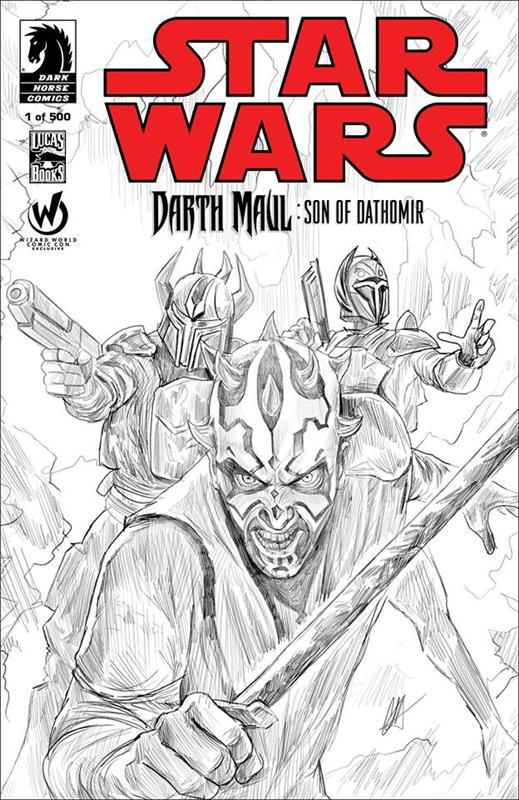 Son of Dathomir #1 Sketch Cover