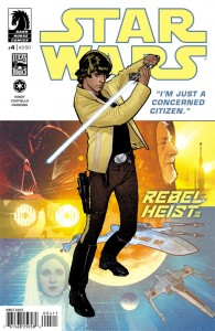 Rebel Heist #4 (Adam Hughes Cover)