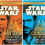 Legends-Paperbacks mit Han und Lando
