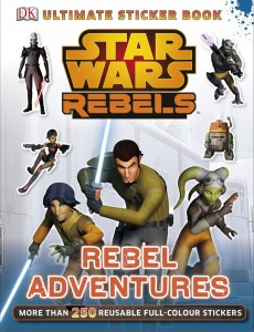 Star Wars Rebels: Ultimate Sticker Book: Rebel Adventures (01.08.2014, Amazon.de)