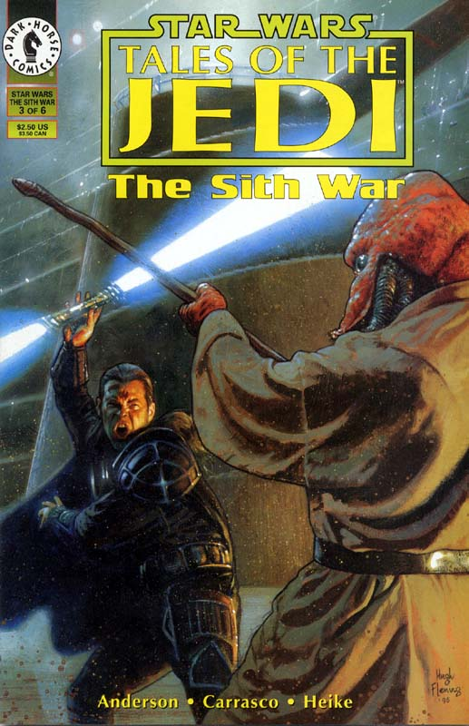 Tales of the Jedi: The Sith War #3: The Trial of Ulic Qel-Droma