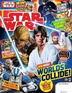 Cover der ersten Ausgabe des Star Wars Magazine
