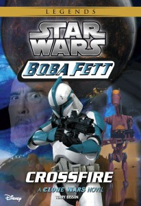 Boba Fett 2: Crossfire (2014, Legends-Cover)