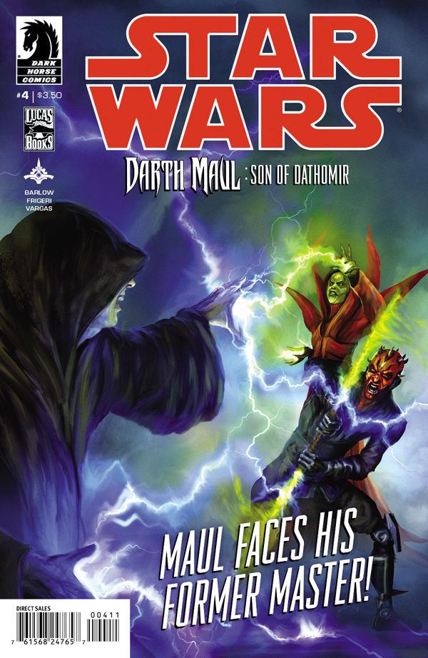 Darth Maul: Son of Dathomir #4 (20.08.2014)