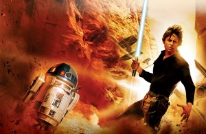 Heir to the Jedi Artwork