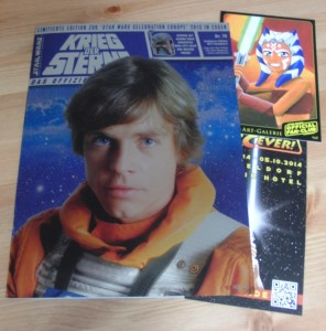 <em>Offizielles Star Wars Magazin</em> #70 Celebration Europe II Metallic Edition + Postkarte