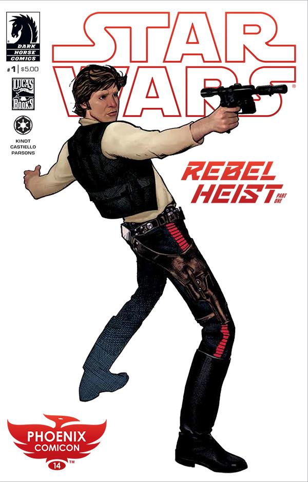 Rebel Heist #1 Phoenix Comicon Adam Hughes Variant Cover