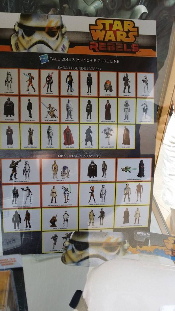 Saga Legends von Hasbro mit der Obi-Wan-Figur (2. Reihe, 6. Bild)