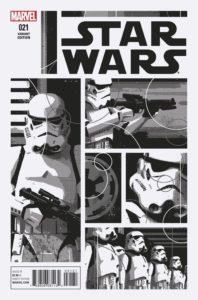Star Wars #21 (David Aja Black & White Variant Cover) (20.07.2016)