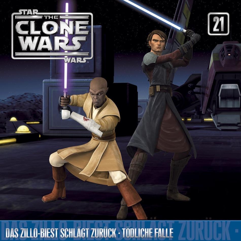 The Clone Wars - 21 - Das Zillo-Biest schlägt zurück / Tödliche Falle