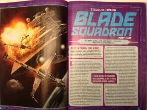 <em>Blade Squadron</em> im <em>Star Wars Insider</em> #150