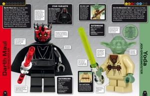 Datenbank zu Darth Maul und Yoda
