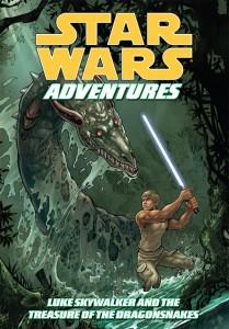 Star Wars Adventures: Luke Skywalker and the Treasure of the Dragonsnakes