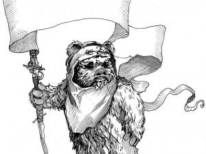 Ein Ewok in The Jedi Doth Return (via CNET)