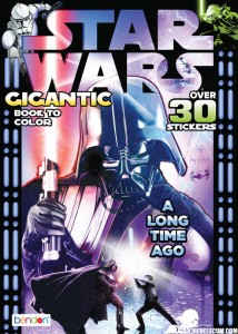 Star Wars Gigantic Book To Color - A Long Time Ago...