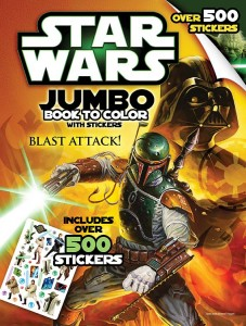 Jumbo Book to Color – Blast Attack!