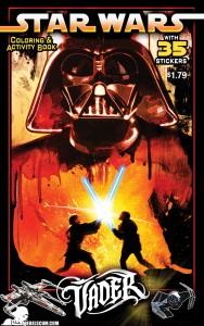 Vader Coloring & Activity Book