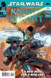Knight Errant: Aflame #1 (Dave Ross Variant Cover)