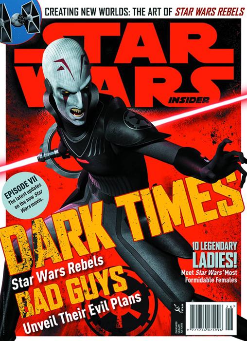 Star Wars Insider 153 (Newsstand Cover)