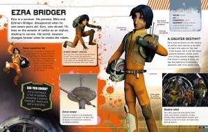<em>Visual Guide</em>-Vorschauseite: Ezra Bridger