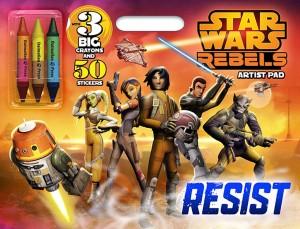 Star Wars Rebels Artist Pad - Resist