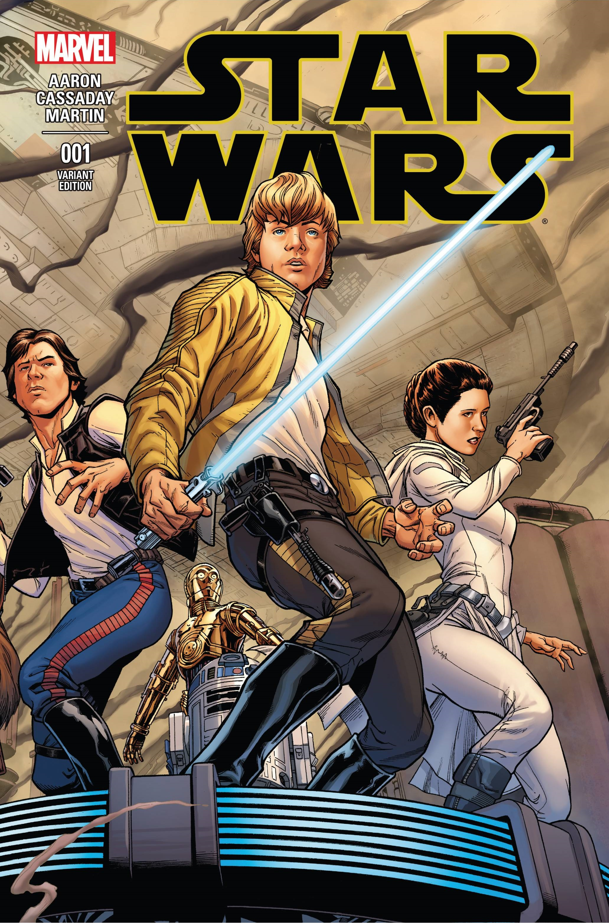 Star Wars #1 (Joe Quesada Variant Cover) (14.01.2015)