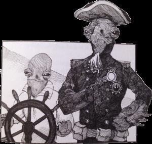 Admiral Ackbar in The Jedi Doth Return