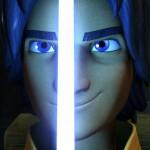Ezra mit Lichtschwert