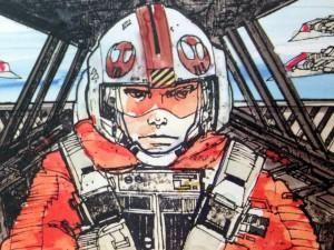 Luke im Snowspeeder