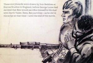Luke und Ben nach dem Duell mit Darth Vader