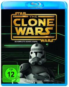 Vorläufiges Cover der sechsten Staffel The Clone Wars auf Blu-Ray