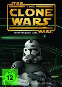 Vorläufiges COver der sechsten Staffel The Clone Wars auf DVD