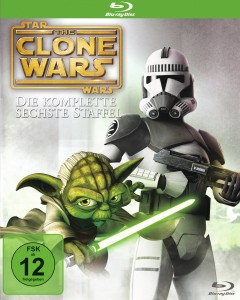 Star Wars: The Clone Wars: Staffel 6 (Blu-ray, 2014)