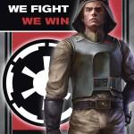 """We Fight, We Win""-Propagandaposter aus dem Imperial Handbook"