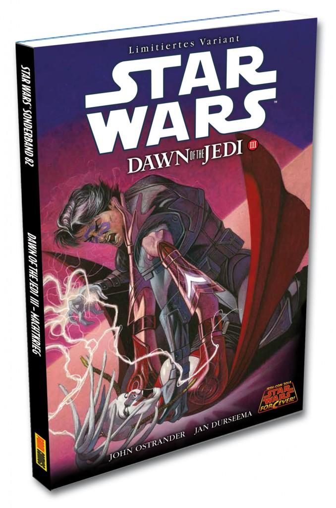 Dawn of the Jedi III - Jedi-Con-Variantcover