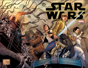Star Wars #1 (Joe Quesada Variant Cover) - komplettes Motiv