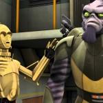 "C-3PO und Zeb in Star Wars Rebels (""Droids""-Promo)"