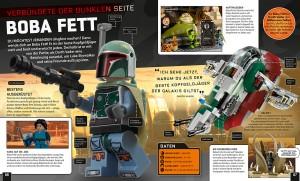 Boba Fetts Doppelseite in LEGO Star Wars: Die Dunkle Seite (Quelle: DK)