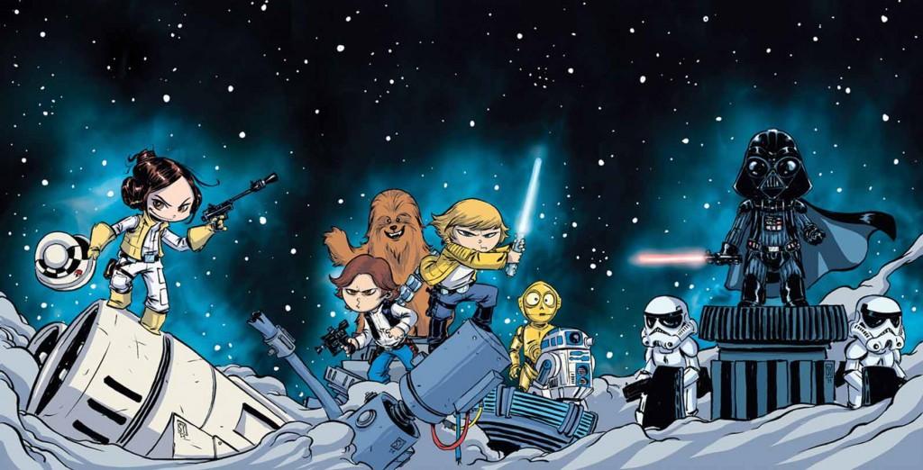 Skottie Youngs Marvel-Variantcover für <em>Star Wars</em>