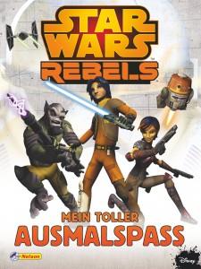 Star Wars Rebels - Mein toller Ausmalspaß (Februar 2015)