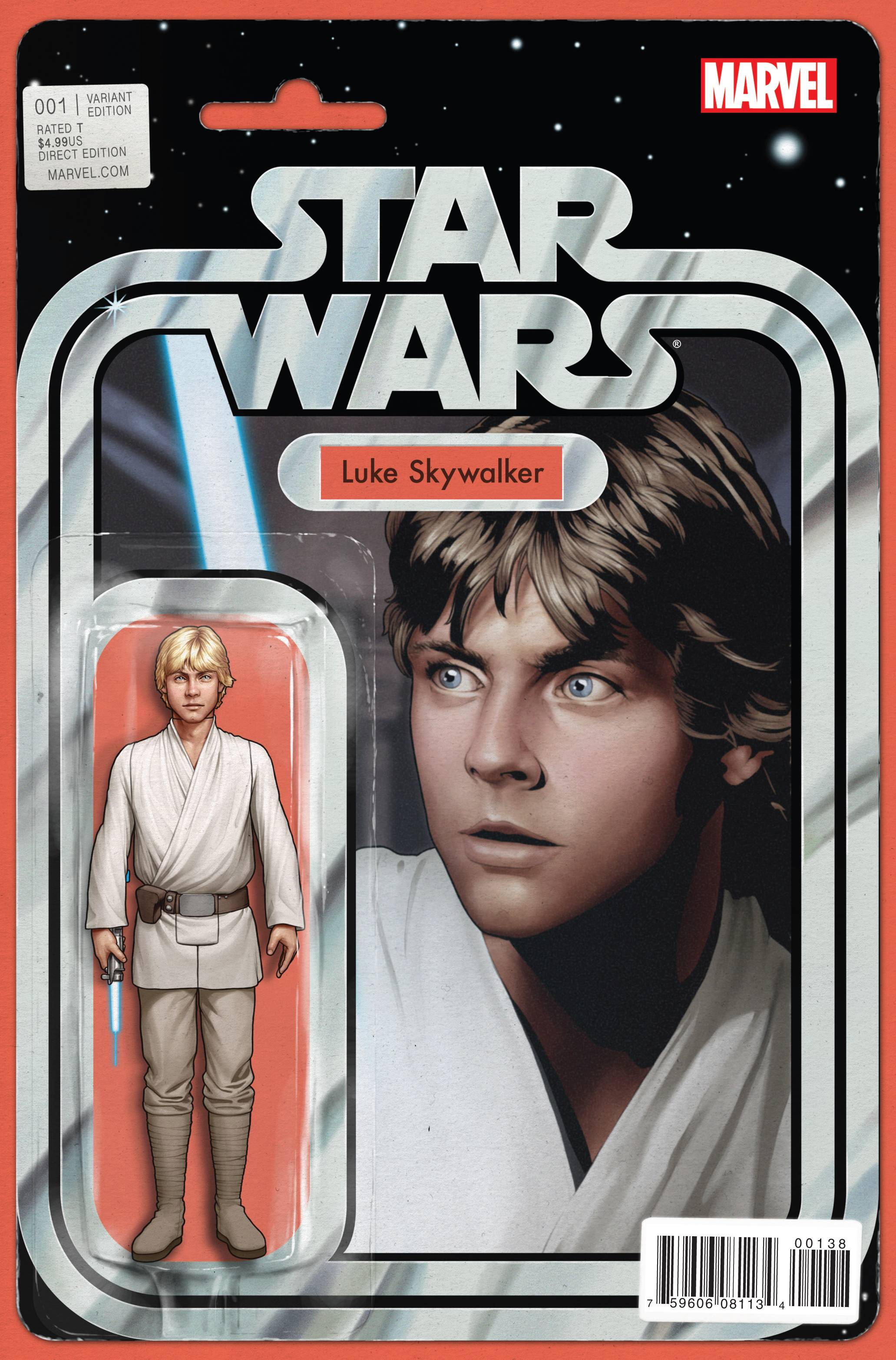 Star Wars #1 (John Tyler Christopher Action Figure Variant Cover) (14.01.2015)