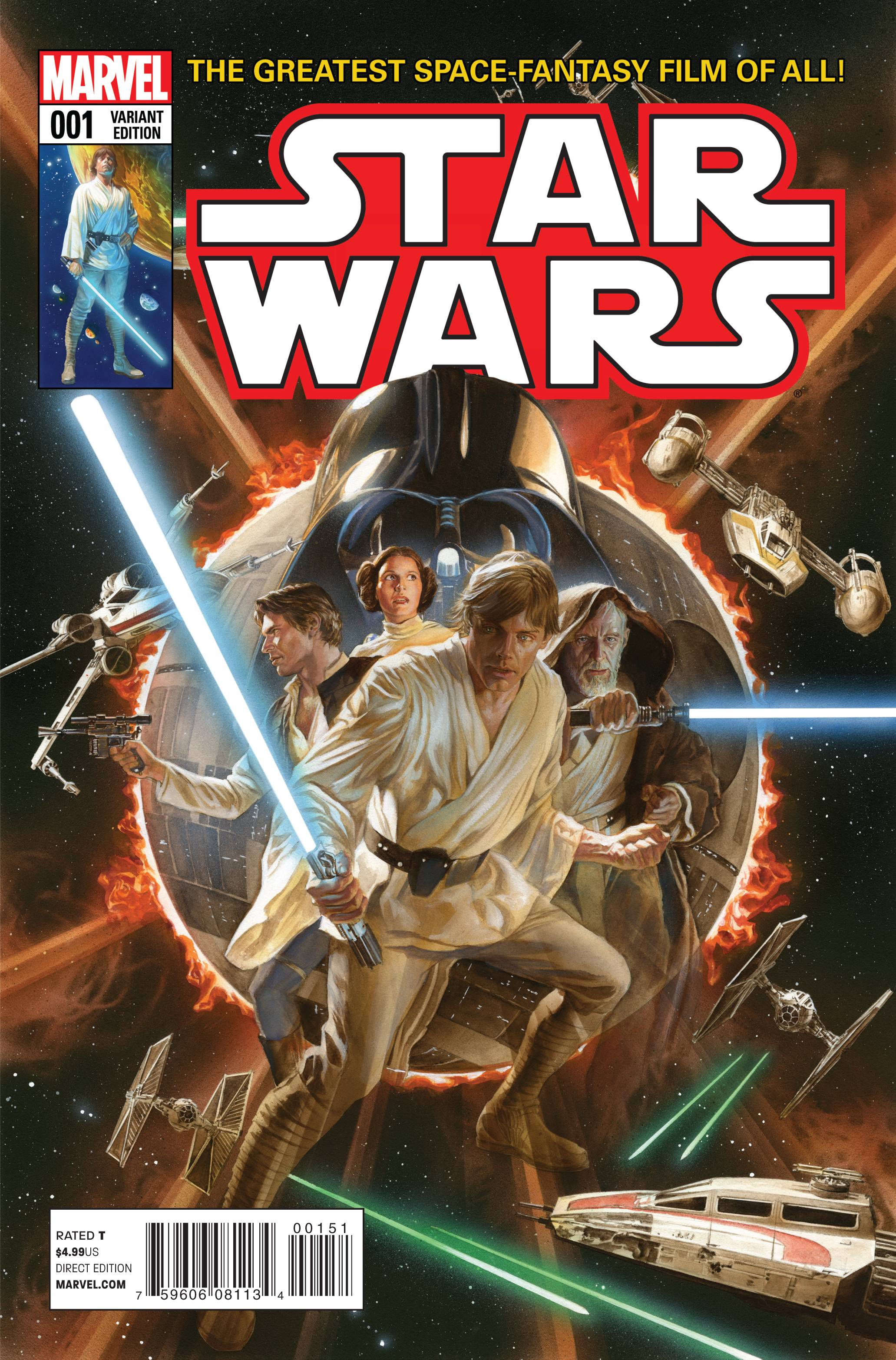 Star Wars #1 (Alex Ross Variant Cover) (14.01.2015)